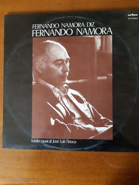 """Disco de vinil """"Fernando Namora diz Fernando Namora """""""