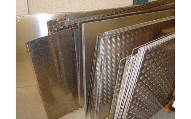 Алюминий листовой 0,5-6мм, Алюминиевая плита дюраль от 8-80мм Порезка