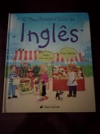 """Vendo """"O Meu Primeiro Livro de Inglês"""" - livro Infantil"""