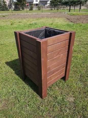 Donice ogrodowe donica skrzynka drewniana