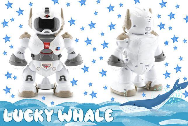 Танцующий светящийся робот с музыкой игрушка музыкальный Dancing Robo