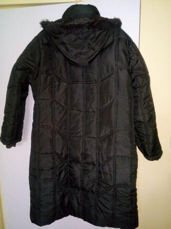 Ciemny brąz płaszczyk-kurtka zima xxxl