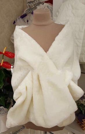 Продам накидку, шарф для невесты айвори