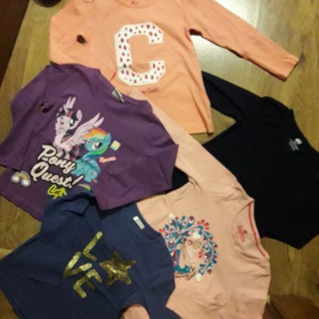 Bluzki dla dziewczynki 98/104