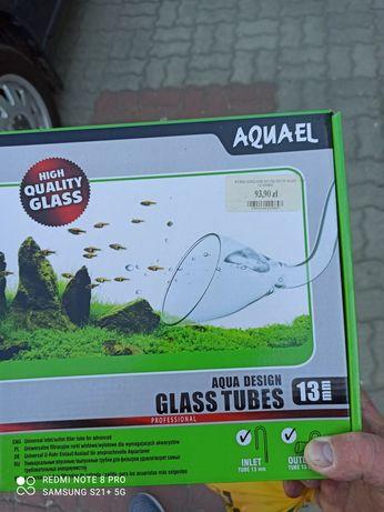 Aquael szklany wlot wylot filtra