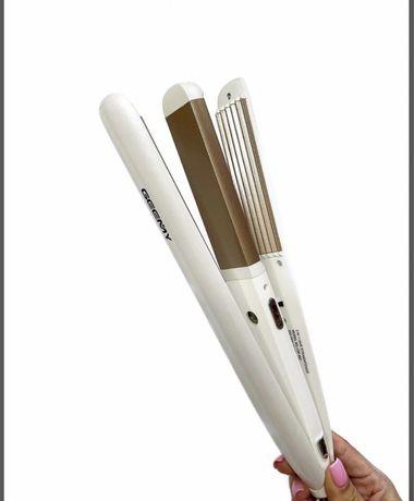 Стайлер для волосся 2в1. Випрямляч. Гофре.
