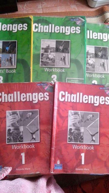 Challenges учебники тетради английский Книги підручники зошити з англ
