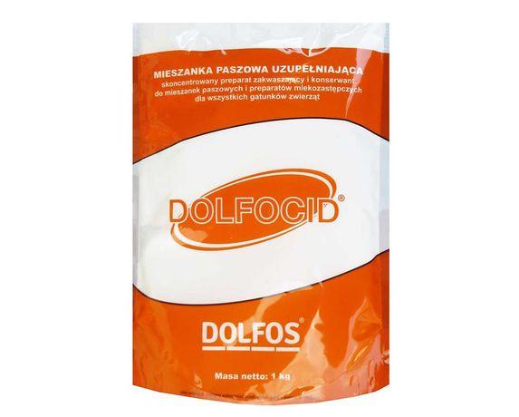 DOLFOCID 1 kg preparat zakwaszający i i konserwant do mieszanek paszow