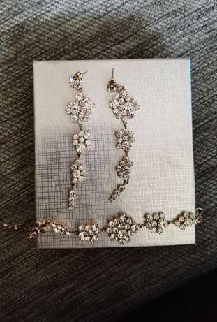 Biżuteria ślubna (różowe złoto)