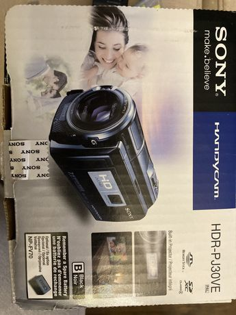 Kamera Sony hdr-pj30ve