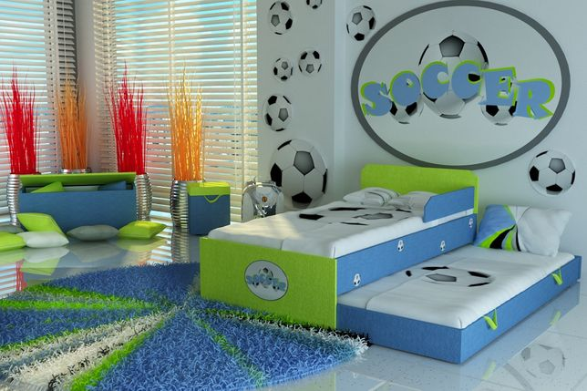 Łóżko piętrowe dla dzieci,dziecięce z piłką+2materace,dostawa GRATIS