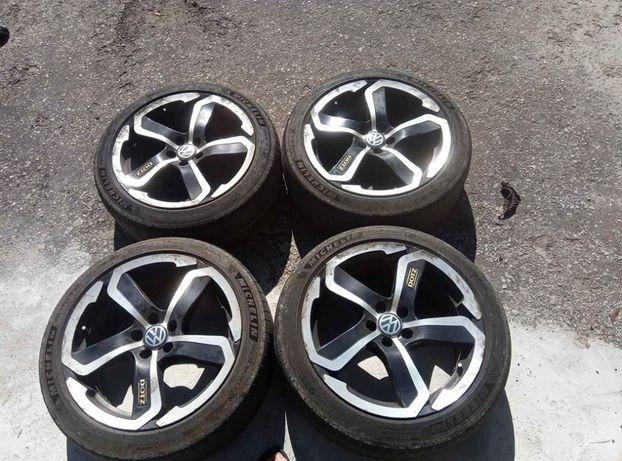 Jantes 17 VW Bora 4 Motion com Pneus
