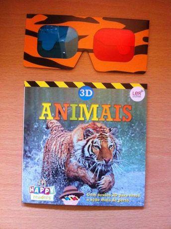 Livro Animais 3D
