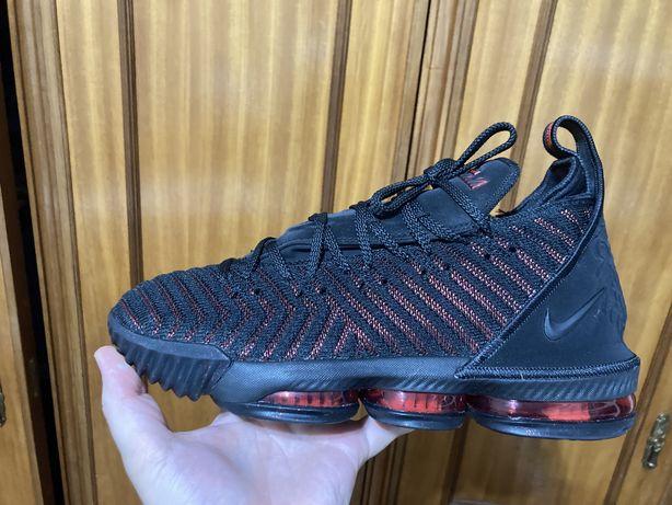 Nike Lebron 16 Bred Tam 42
