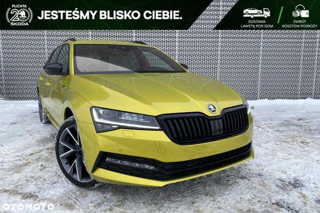 Škoda Superb Sportline 2.0 TDI 200 KM DSG Pakiet COMFORT DCC AMUNDSEN navi od ręki!