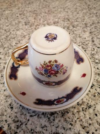 Chávena café antiga Inglesa
