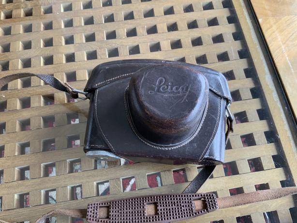 Bolsa em cabedal para camara Leica M. Usada