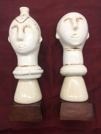 Figuras Ndebele e Luba