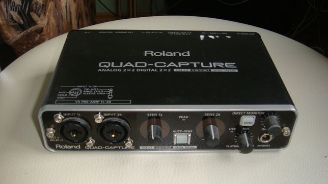 """Продам замечательную саунд-карту """"Roland Quad-Capture"""""""