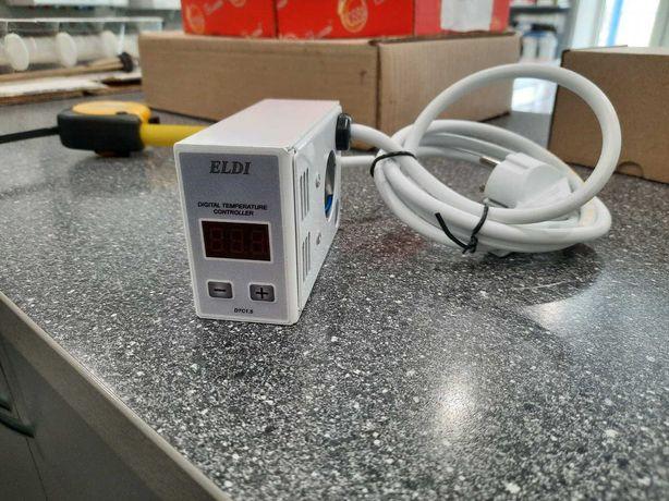 Электрический програматор к радиатору с авторегулятором  ELDI + тэн