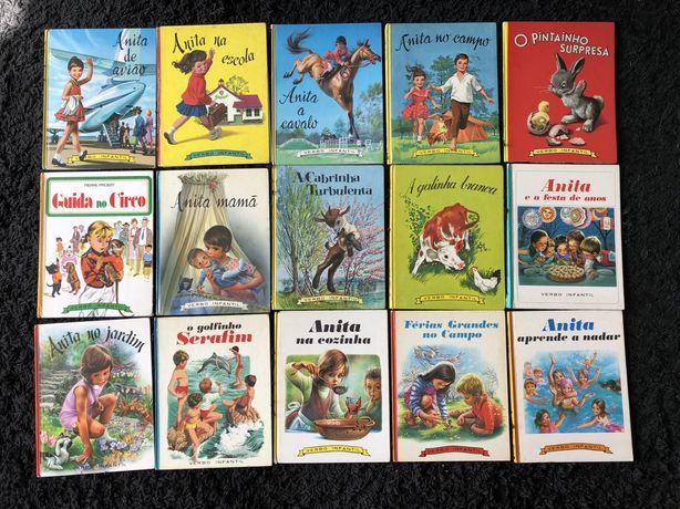 Gilbert Delahaye Livros colecao Anita da Verbo Infantil