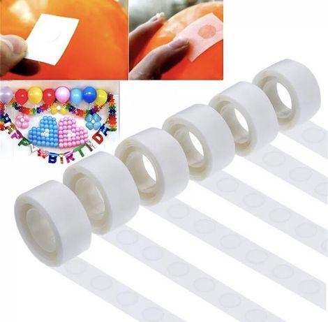 Двухсторонняя клейкая лента для крепления воздушных шариков