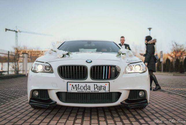 Samochód do ślubu BMW F10, auto, limuzyna do ślubu. 400zl !