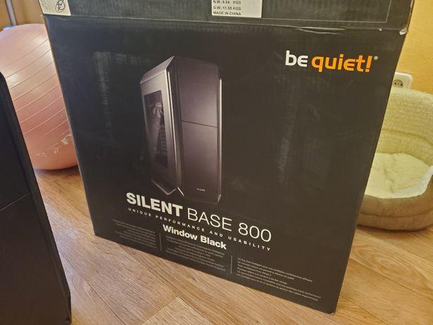 Компьютерный корпус BeQuiet! SILENT BASE 800 пк компьютер системник