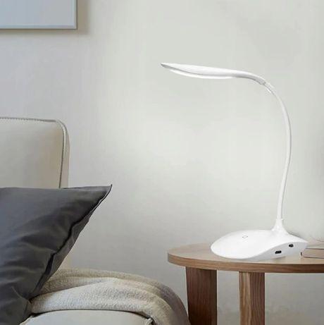 Lampka biurkowa szkolna na biurko 14 LED USB DOTYK