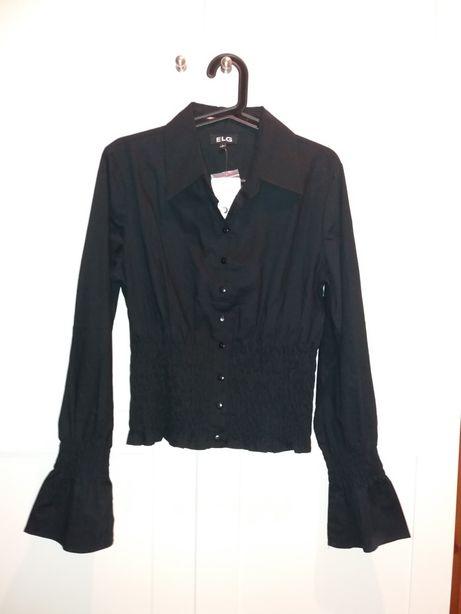 Czarna bluzka koszula M/L/nowa