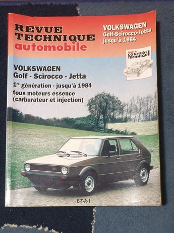 Manual VW Golf MK1, Scirocco e Jetta (tipo Haynes)