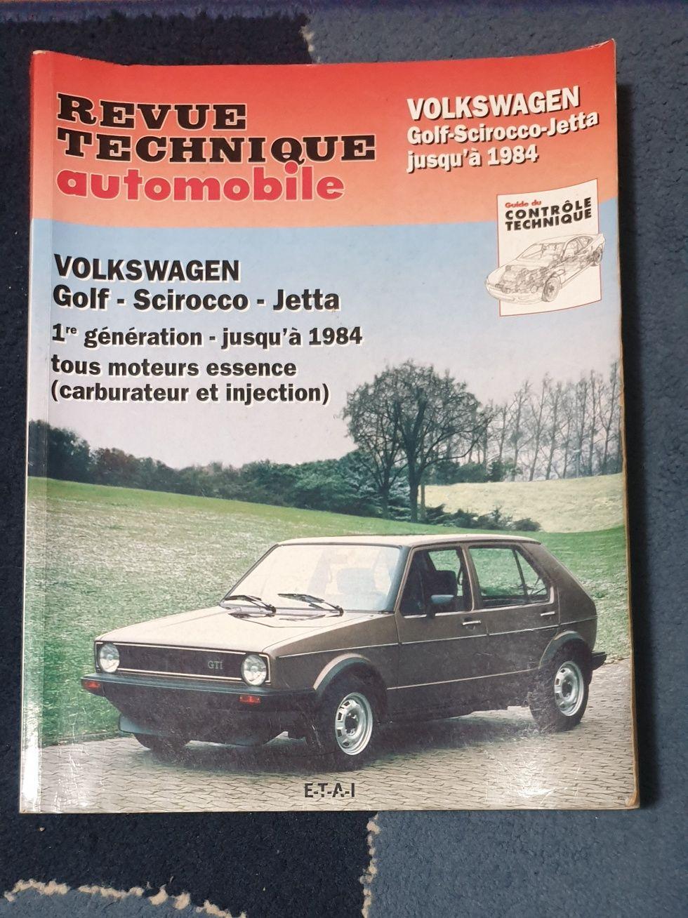 Manual VW Golf MK1, Scirocco e Jetta (tipo Haynes)