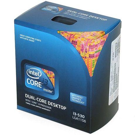Processador i3 530 2.93 GHz lga1156 com caixa e cooler