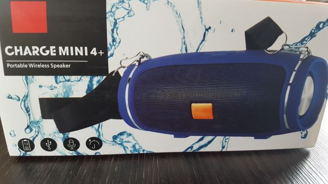 Głośnik bluetooth jak jbl glosny czysty bass smycz kabel mocna bateria