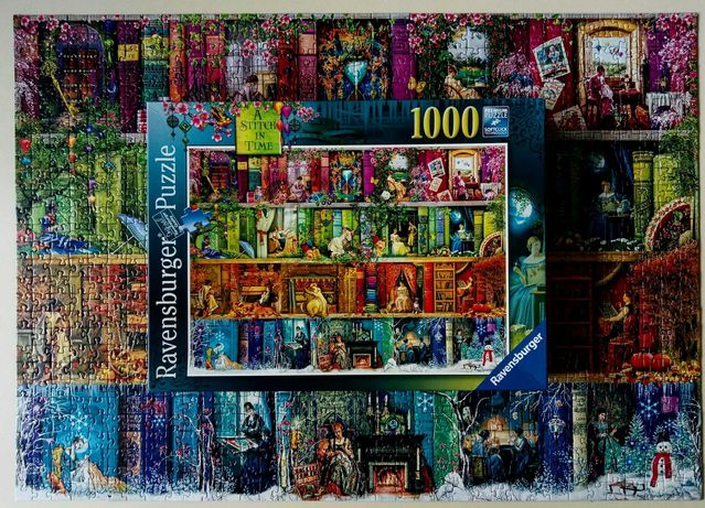 "Продам пазл Ravensburger (Германия) ""A Stitch in Time"" 1000"