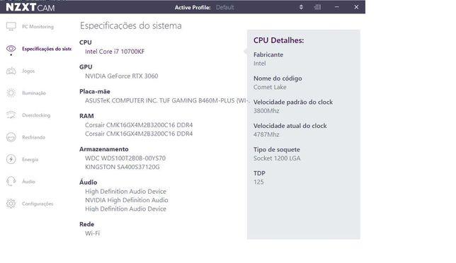 PC Gaming NOVO - RTX 3060 12GB