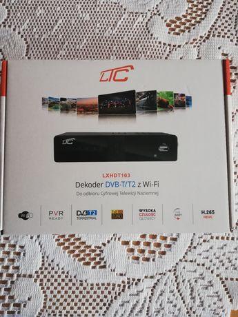 Nowy dekoder telewizji DVB-T, DVB T2. H 265 HEVC.