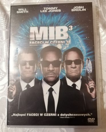 Film DVD Faceci w czerni 3