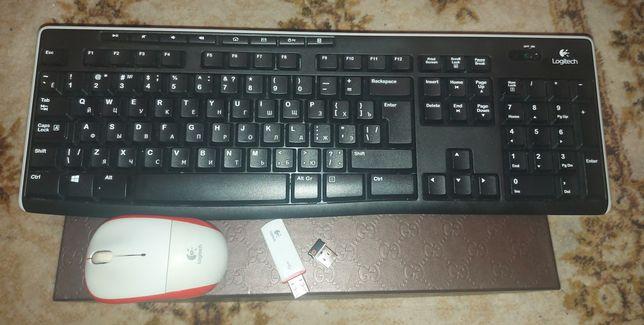 Супер предложение!Клавиатура logitech k270 и мышка m205