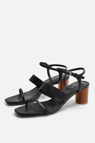 Czarne sandały TopShop DITA r. 37