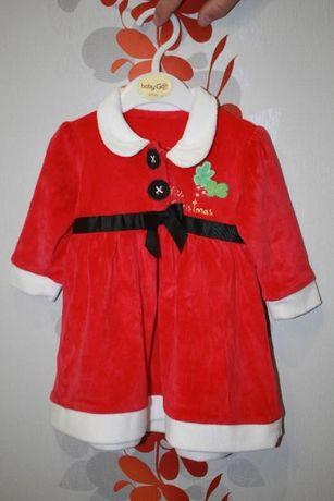 Новогоднее детское платье.