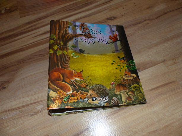 """,,Leśne przygody"""" Editions Atlas poradnik przyrodniczy"""