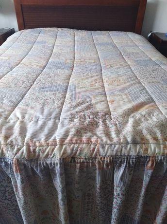 Colcha edredão cama de casal