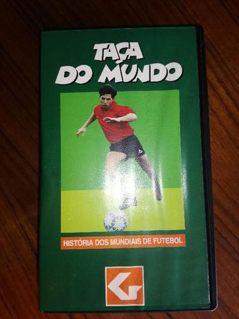 Cassetes História dos Mundiais de Futebol