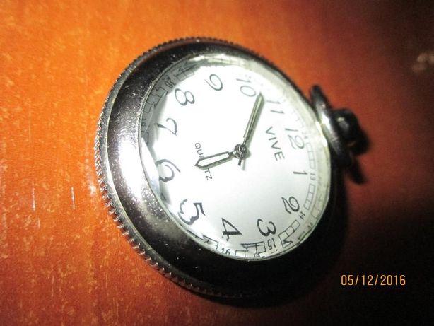 2 relógios de bolso raros- c/medalha 5 Outubro1910 e Vive e bolsa