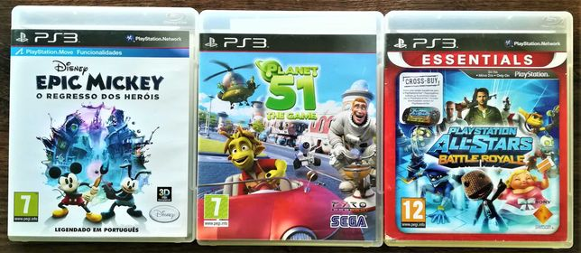 Jogos Infantis Playstation 3 (PS3)