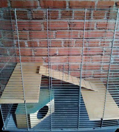 Duża klatka wys 78 cm x 86 cm