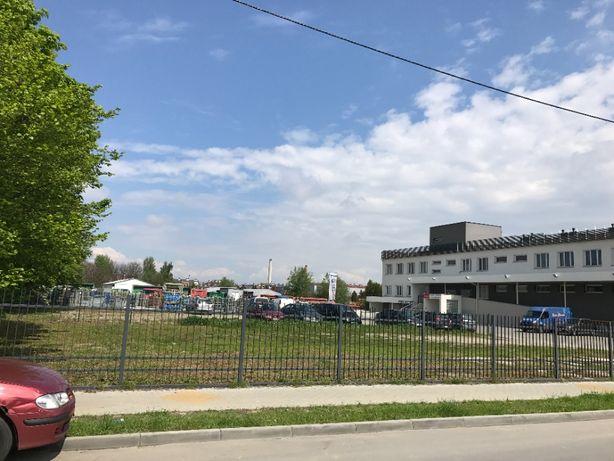 PLAC utwardzony 800 m2 + pom. socjalne przy ul. Połoninskiej  7 Rz-ów