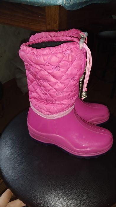 Теплі зимові чоботи гумові 29-30 розміру Прилуки - изображение 1