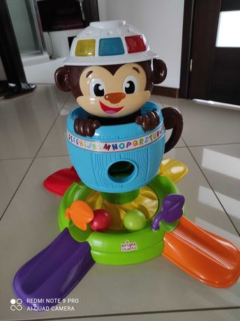 Zabawka interaktywna małpi gaj